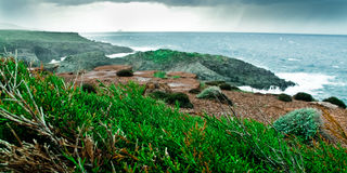 Cerdeña-Isla de Sant'Antioco Fotos de archivo libres de regalías
