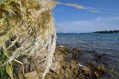 Cerdeña, playa, Ira Beach, Oporto Rotondo, Fotos de archivo