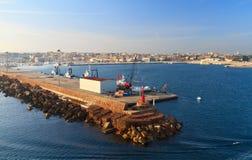 Cerdeña - Porto Torres foto de archivo