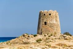 Cerdeña, torre de Barì imagen de archivo
