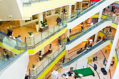Cerdica Center shopping mall, Sofia Royalty Free Stock Photography