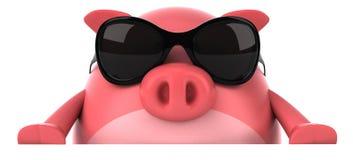 Cerdo stock de ilustración