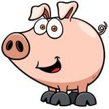 Cerdo ilustración del vector