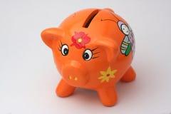 Cerdo anaranjado Fotografía de archivo