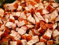 Cerdo asado Fotografía de archivo libre de regalías