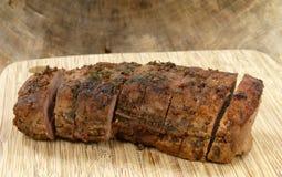 Cerdo asado Foto de archivo libre de regalías