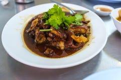 Cerdo chino Ham Soup Fotografía de archivo