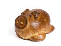 Cerdo cocido al horno Fotos de archivo