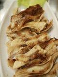 Cerdo coreano de la barbacoa de la comida 'Selectivo del focus〠Fotos de archivo