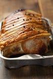 Cerdo de carne asada Imágenes de archivo libres de regalías