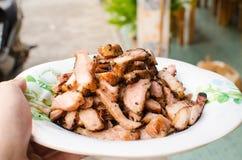 Cerdo de carne asada Foto de archivo libre de regalías