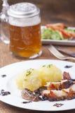 Cerdo de carne asada bávaro Fotos de archivo