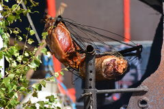 Cerdo de Grill del vaquero foto de archivo