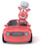 Cerdo de la diversión ilustración del vector