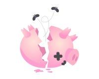 Cerdo de los ahorros Imagen de archivo