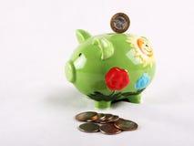 Cerdo de Moneybox Imágenes de archivo libres de regalías