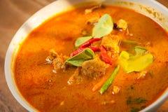 Cerdo del curry del coco Imagen de archivo libre de regalías