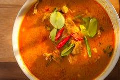 Cerdo del curry del coco Imagenes de archivo