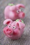 Cerdo del mazapán Foto de archivo libre de regalías