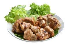 Cerdo envuelto frito de la cocina vietnamita Imágenes de archivo libres de regalías