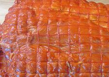 Cerdo fumado Carne Fotos de archivo
