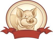 Cerdo gráfico Imagen de archivo