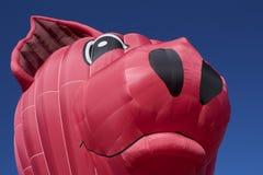 Cerdo grande, que vuela Fotos de archivo