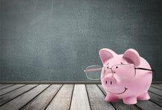 Cerdo, impuesto, consejero financiero ilustración del vector