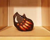 Cerdo japonés tradicional del jabalí del juguete fotos de archivo