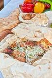 Cerdo Kebab fotos de archivo libres de regalías