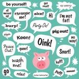 Cerdo que habla libre illustration