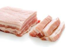 Cerdo rayado Fotografía de archivo libre de regalías