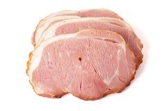 Cerdo rebanado Foto de archivo libre de regalías