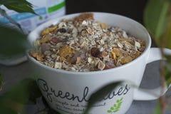 Cereais da manhã Fotos de Stock
