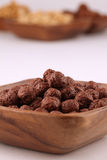 Cereais do chocolate e do mel Imagem de Stock