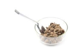 Cereais isolados no branco Imagem de Stock