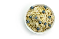 Cereal. Picture of a cereal in a bowl Royalty Free Stock Image