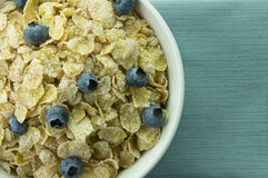 Cereal. Picture of a cereal in a bowl Stock Image
