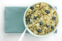 Cereal. Picture of a cereal in a bowl Stock Photography