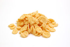 Cereal. Corn Flakes as a natural background. Healthy food royalty free stock image