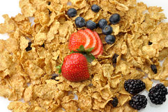 Cereal background Royalty Free Stock Image