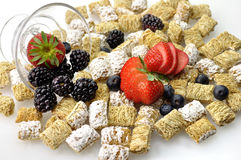 Cereal background Stock Photography