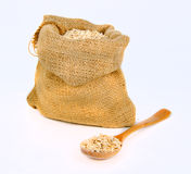 Cereal in the bag Royalty Free Stock Photo