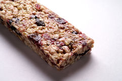 Cereal bar. Cereal with wild berries bar Stock Photo