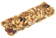 Cereal Bar with Dried Fruit stock photography