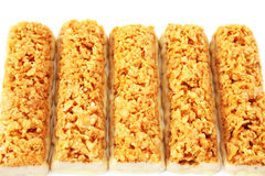 Cereal bars Royalty Free Stock Photography