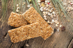 Cereal bars Stock Image