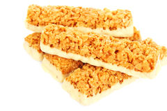 Cereal bars Stock Images