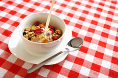Cereal bowl Royalty Free Stock Images