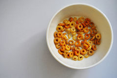 Cereal in bowl Stock Photography